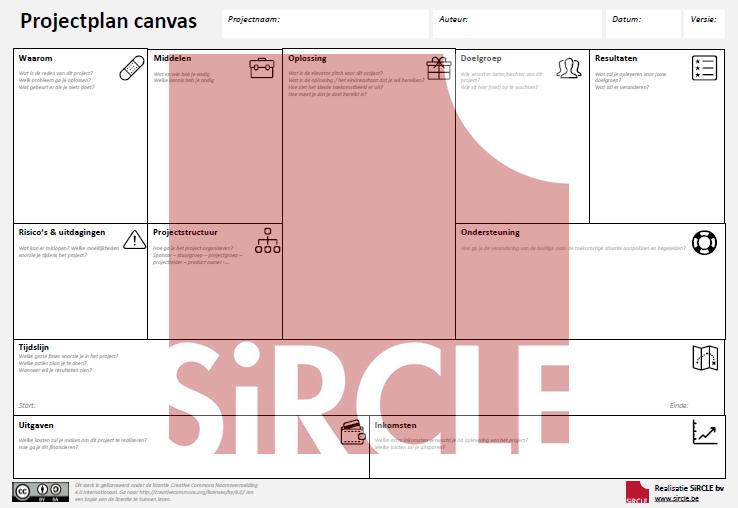 Projectplan canvas